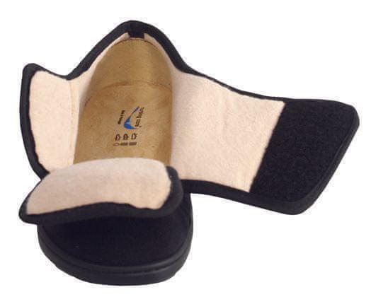 Nursing Care ARRABIDA zdravotní obuv pro oteklé nohy zateplena unisex černá M7T11 Nursing Care Velikost: 35