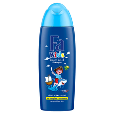 Fa Kids gel za tuširanje, wild ocean, 250 ml