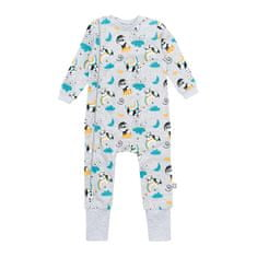 Garnamama dětské pyžamo šedá 80