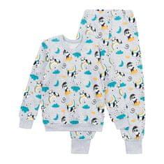 Garnamama dětské pyžamo šedá 86