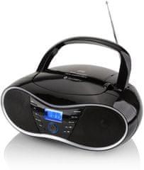 GoGEN radiomagnetofon CDM 388 SUBT, czarny