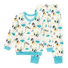 Garnamama dětské pyžamo smetanová 86