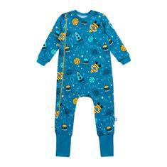 Garnamama chlapecké pyžamo modrá 80