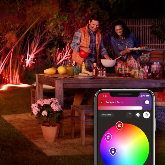Philips Hue Outdoor Strip LED PÁSIK VONKAJŠÍ 2 m BT
