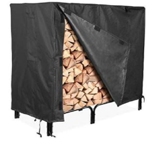 J.A.D. TOOLS Zásobník na krbové dřevo s plachtou