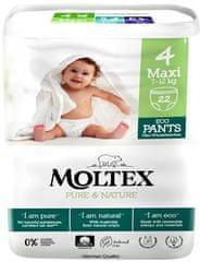 MOLTEX Natahovací plenkové kalhotky Moltex Pure & Nature Maxi 7-12 kg (22 ks)