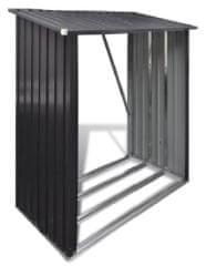 J.A.D. TOOLS Přístřešek na krbové dřevo 185 × 152 × 80 cm - použité