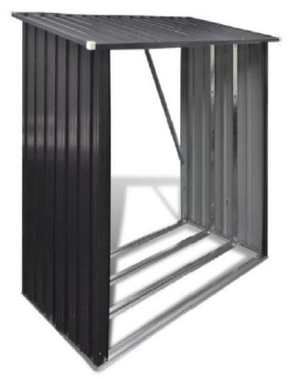 J.A.D. TOOLS Přístřešek na krbové dřevo 185 × 152 × 80 cm