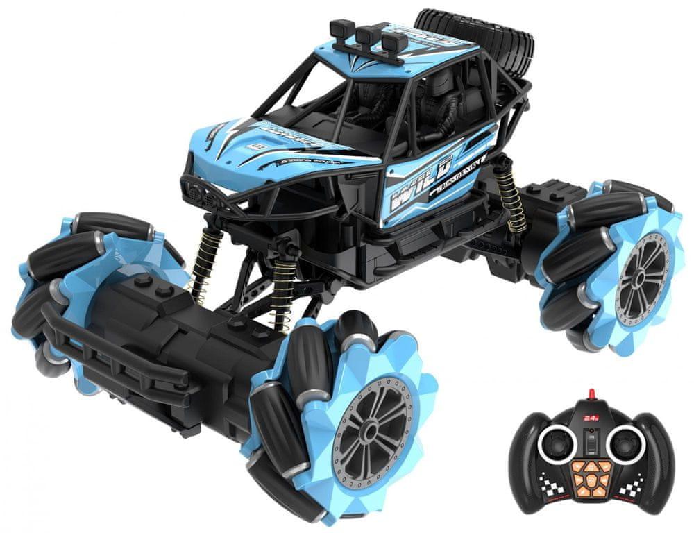 Wiky Auto terénní driftující RC 25 cm modré