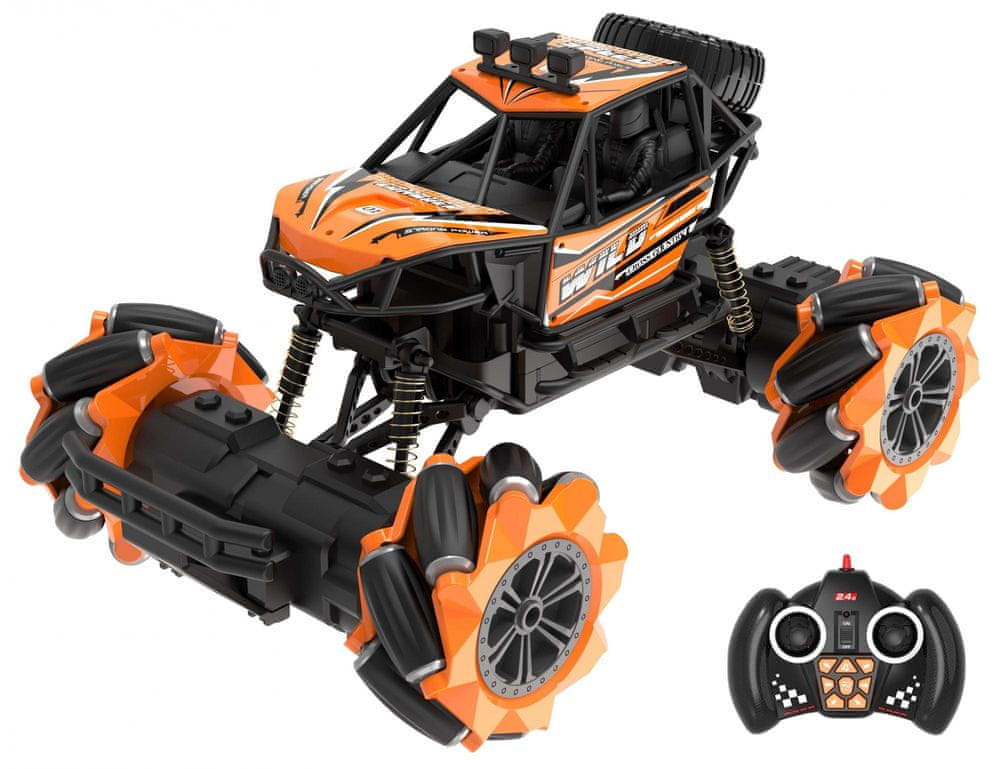 Wiky Auto terénní driftující RC 25 cm oranžové