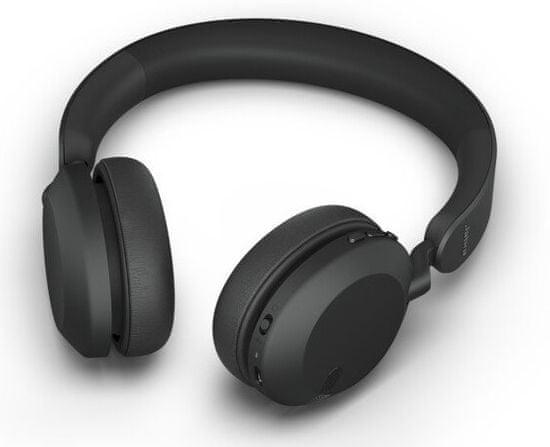 Jabra brezžične slušalke Elite 45h, črne