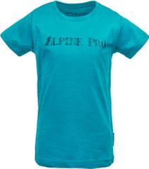 ALPINE PRO dětské tričko BLASO_2 140 - 146 modrá