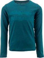 ALPINE PRO chlapecké tričko NEDEMO 92 - 98 tyrkysová