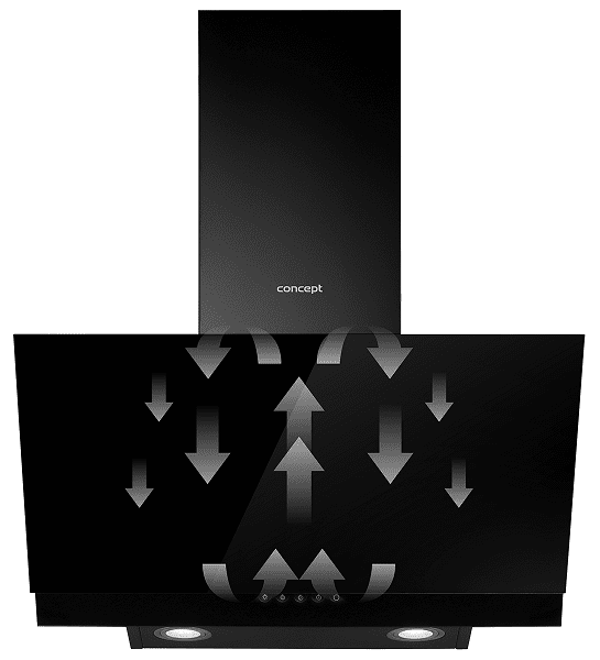 Okap kuchenny Concept OPK5060bc Recyrkulacja