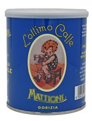 Mattioni kava, mleta, modra, 250 g, v pločevinki