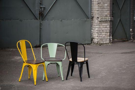 shumee Paris Arms Lesni stol zeleni brušeni bor