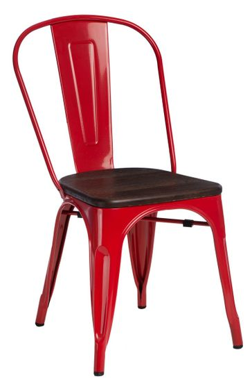 shumee Stol Pariz Les, rdeč bor, brušen