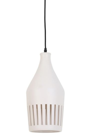 shumee Viseča svetilka Twinkle keramično bela