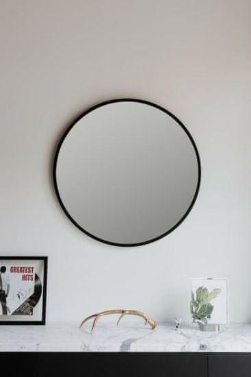 shumee Ogledalo pesta 91cm črno