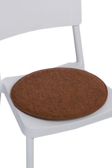 shumee Blazina za stol, okrogla pom. melange