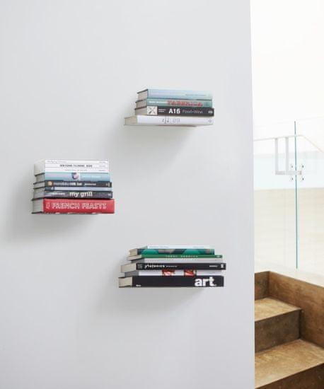 shumee Zestaw 3 półek na książki, L, CONCEAL