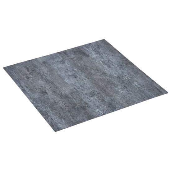 Greatstore Samolepiace podlahové dosky 5,11 m², PVC, sivý mramor