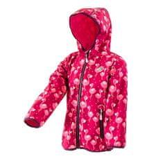 PIDILIDI Dívčí softshellová bunda 68 - 74 růžová
