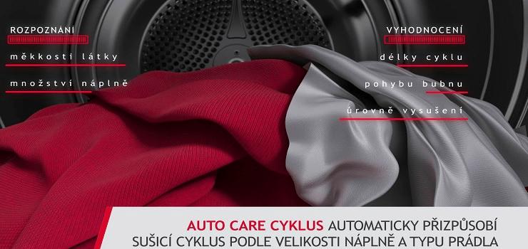 Sušička Hoover ND4 H7A2TSBEX-S Auto Care