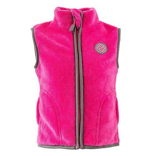 PIDILIDI Dívčí vesta 128 růžová