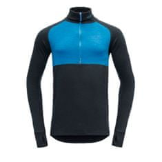 Devold ženska majica Expedition Zip Neck LS, S, temno modra