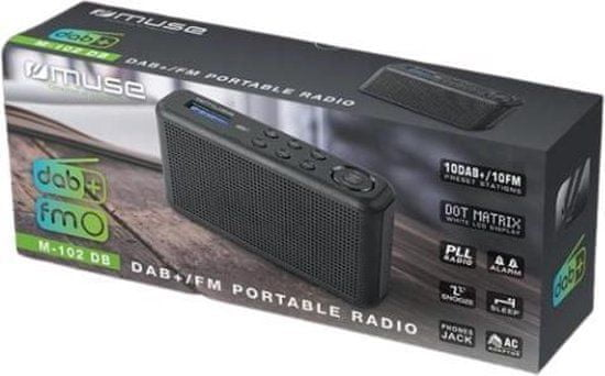 Muse M-102 DB prijenosni radio