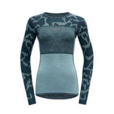 Devold ženska majica Tomra LS, M, modra