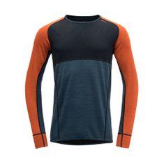 Devold moška majica LS, XL, večbarvna