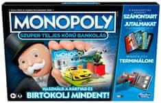 HASBRO Monopoly Super elektronikus bankkártyás kiadás - HU