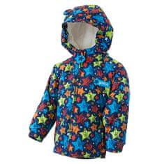 PIDILIDI Chlapecká zimní bunda s kožíškem 80 tmavě modrá