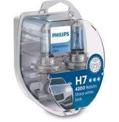 Philips WhiteVision ultra 12972WVUSM H7 PX26d 12 V 55 W