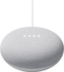 Google Nest Mini 2. generacije pameten zvočnik, svetlo siv