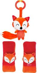 Diono Chránič pásu Soft Wraps & Toy Fox