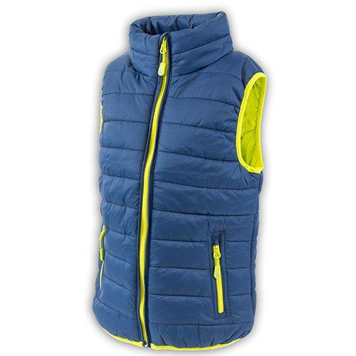PIDILIDI Chlapecká outdoorová vesta 104 modrá