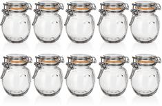 Banquet Kozarec steklen hermetičen LINA 120 ml 10 kos