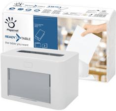 Papernet bílý zásobník na papírové ubrousky + 4000 ks ubrousků