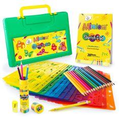 Mimtom Šablony pro děti (20ks) - sada na kreslení a malování