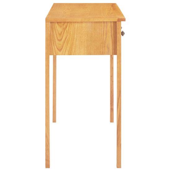 shumee tömör tölgyfa öltözőasztal 118 x 40 x 77 cm