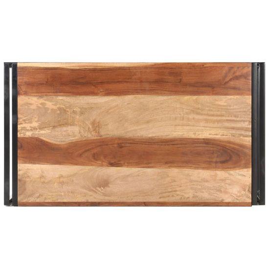 shumee Stolik kawowy, 100x55x45 cm, akacja stylizowana na sheesham
