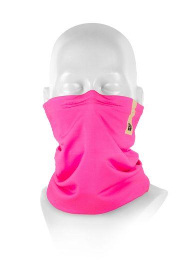 Respilon Nákrčník R-shield Light Pink s protivirovou Nano membránou