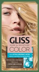 Schwarzkopf Gliss Color Care & Moisture barva za lase, 9-0 Natural Light Blonde