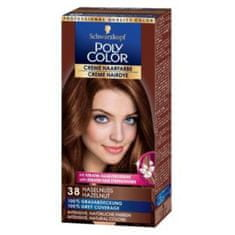 Schwarzkopf Poly Color kremna barva za lase, 38 Hazelnut