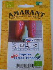 Amarant Paprika Ferenc Tender, ekološko seme