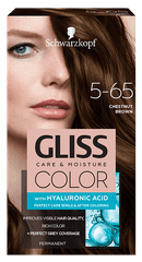 Schwarzkopf Gliss Color Care & Moisture boja za kosu, 5-65 Chestnut Brown