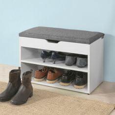 SoBuy FSR25-HG lavice na boty, lavice na boty, stojan na boty